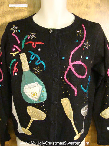 Happy New Year Holiday Sweater