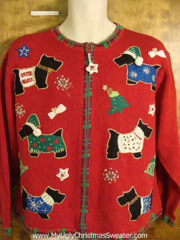 Cheap Dog Themed Novelty Funny Christmas Sweater
