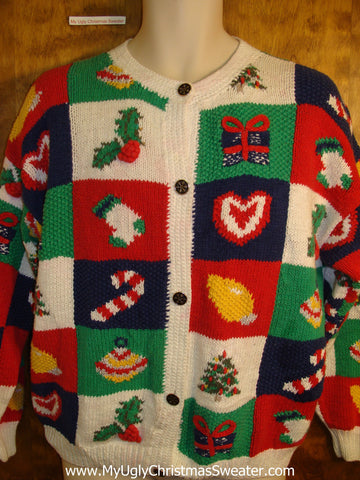 Best 80s Horrible Novelty Funny Holiday Sweater