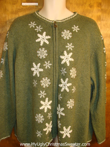 Snowflake Convention Novelty Funny Holiday Sweater