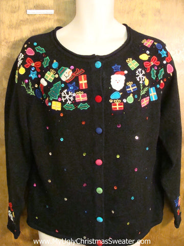 Dream Floating Decorations Ugliest Christmas Sweater