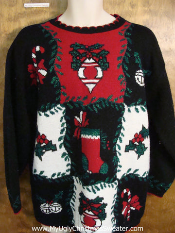 Horrible 80s Funny Christmas Sweater