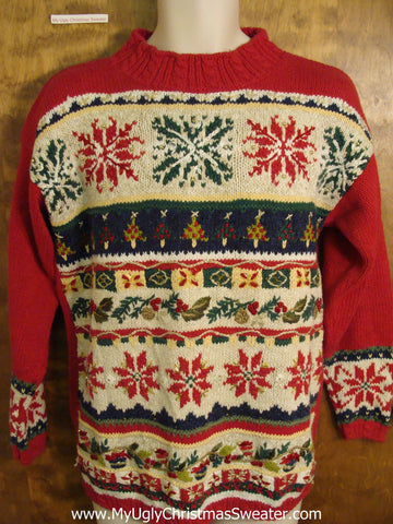 Funny Nordic Christmas Sweater