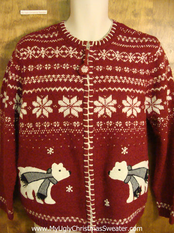 Best Nordic Polar Bear Funny Christmas Sweater
