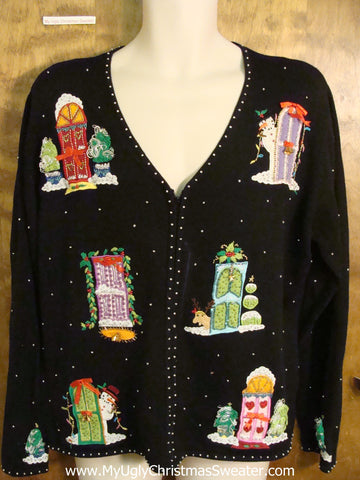 Mystery Design Funny Christmas Sweater