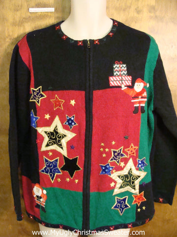 Starry Holidays Cute Xmas Sweater