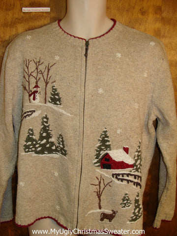 Winter Wonderland Cute Xmas Sweater