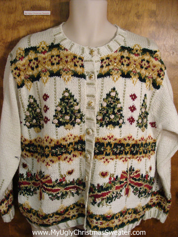 Horrible Ornate Ugly Christmas Sweater