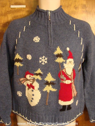 Cute Festive Ugly Christmas Sweater