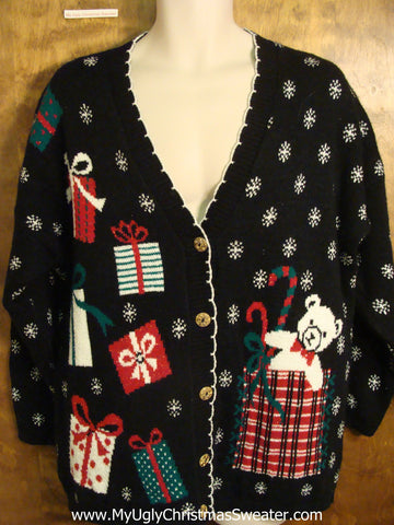 Retro 80s Acrlyic Vintage Ugly Christmas Sweater