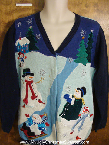 MAGIC IN THE AIR 2sided Ugly Christmas Sweater