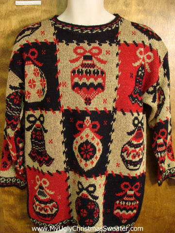 Horrible 80s Worst Ugly Christmas Sweater