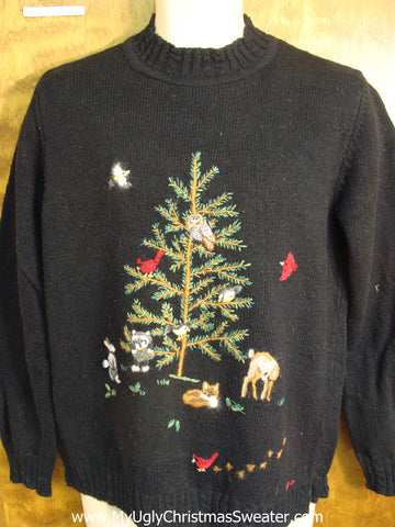 Forest Friends Ugly Christmas Sweater