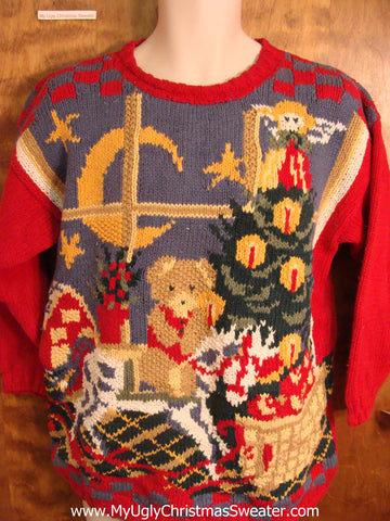 BEST 80s Amazing Festive Ugly Christmas Sweater