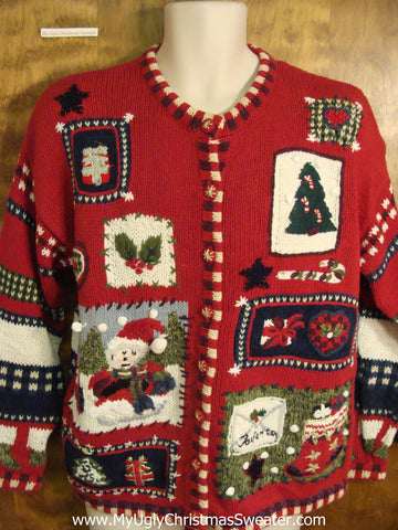 Over the Top 80s Ugly Christmas Sweater