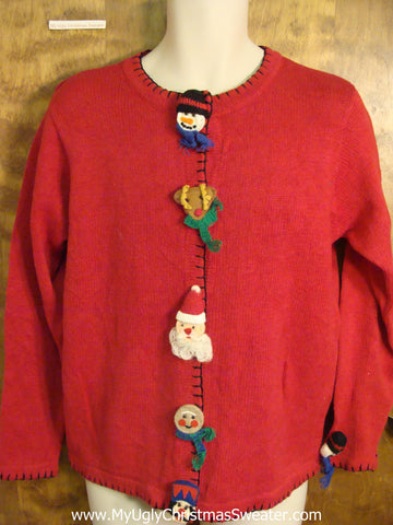 Cheap Red Ugly Christmas Sweater