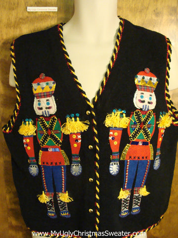 Best Bling Nutcrackers Funny Christmas Jumper Vest
