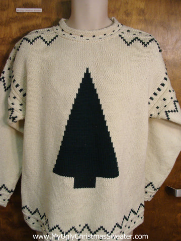 Fun Cute Tree Pullover Ugly Christmas Jumper
