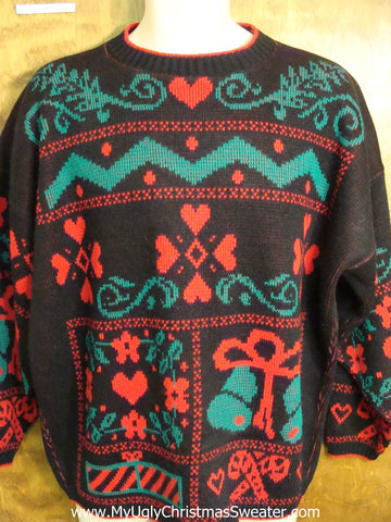 Horrible 80s Mess Ugly Christmas Jumper