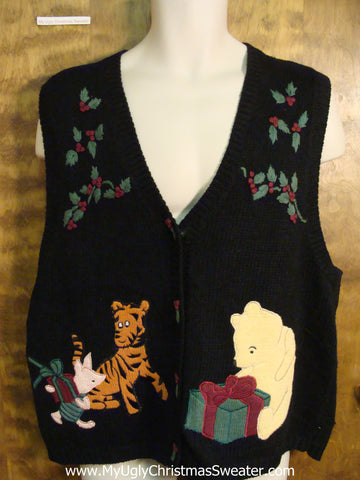 Winnie the Pooh and Friends Ugly Christmas Sweater