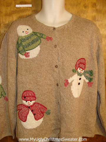 Cute 2sided Ugly Christmas Sweater