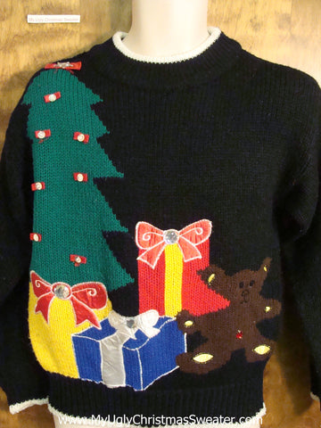 Classic Colorful 80s Ugly Christmas Sweater