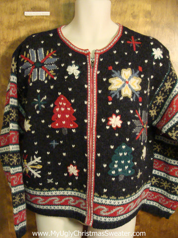 Festive Fun Ugly Christmas Sweater