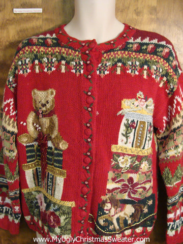Mind Numbing Mess 80s Ugly Christmas Sweater