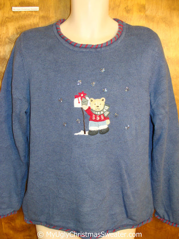 Cheap Cute Bear Ugly Christmas Sweater
