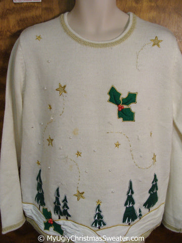 Cheap Ugly Christmas Sweater Pullover