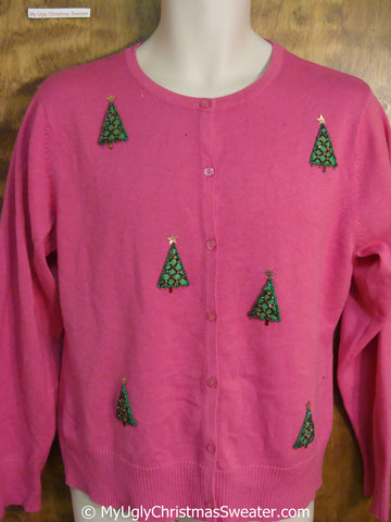 Cheap Pink Ugly Christmas Sweater