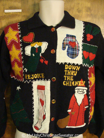 Best 80s Crafty Tacky Christmas Sweater
