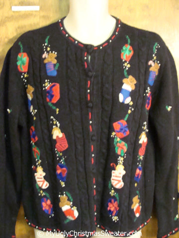 Tacky 2sided Silly Christmas Sweater