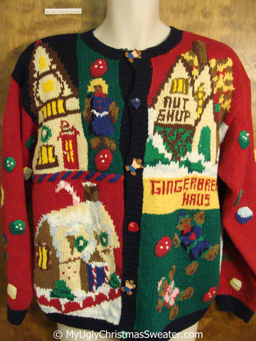 Best of the Best 80s Gingerbread 2sided Christmas Sweater