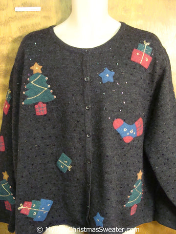 Tacky Christmas Sweater in a  Big XXXL Plus Size