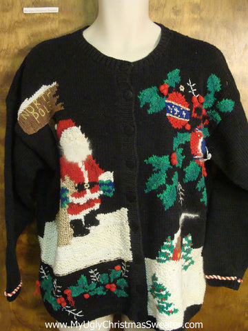 North Pole Ugly Xmas Sweater