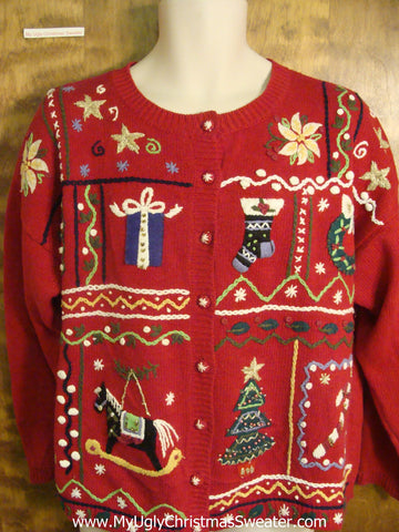 Christmas Decorations Festive Ugly Christmas Sweater