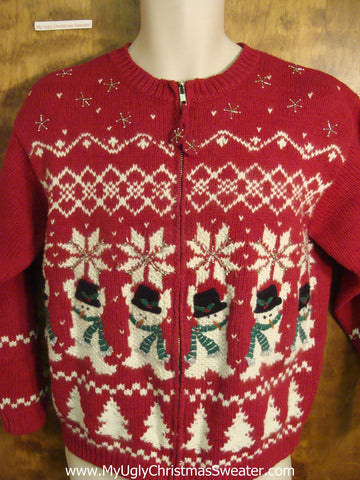 Nordic Style Funny Ugly Sweater for a Christmas Party