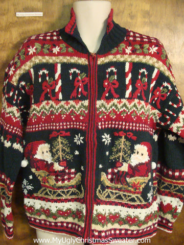Crazy Holiday Design Ugly Sweater for Xmas