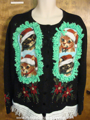 Christmas Cats Ugly Christmas Sweater