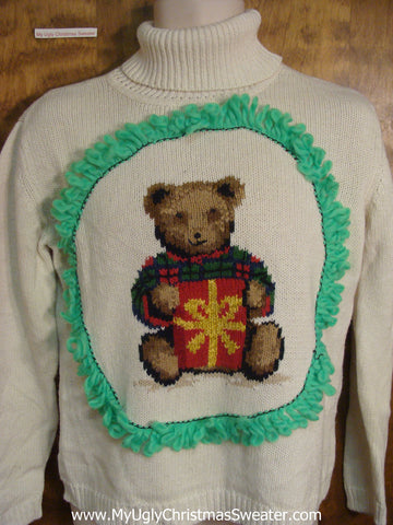 Xmas Teddy Bear Ugly Christmas Jumper