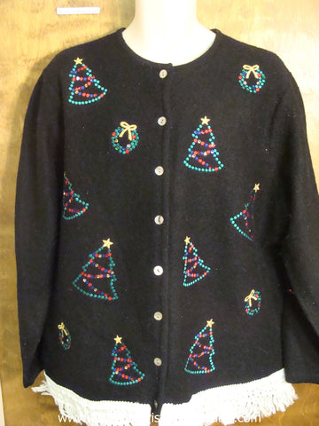 Holiday Xmas Trees Ugly Christmas Jumper