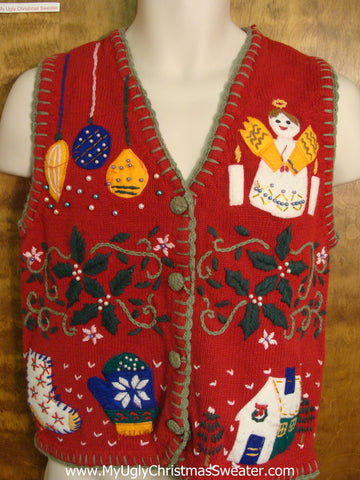 Winter Fun Funny Christmas Sweater Vest