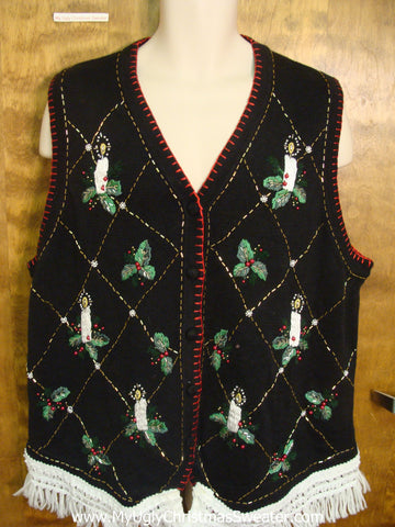 Funny Christmas Sweater Vest
