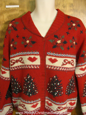 Red Festivities Bad Christmas Sweater