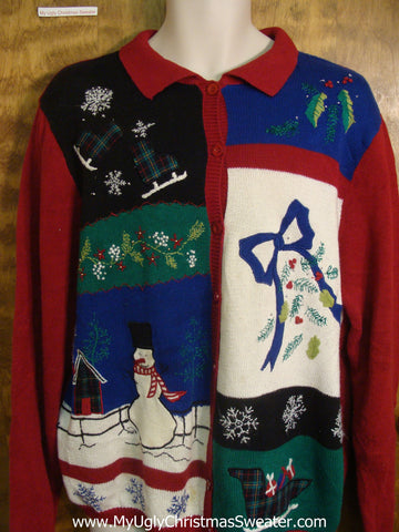 Holiday Classics Bad Christmas Sweater