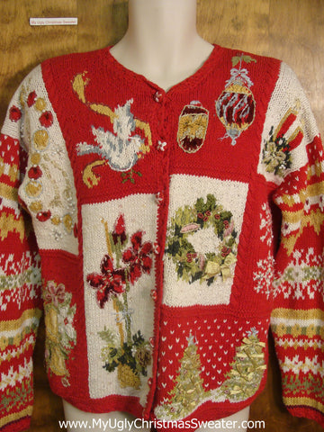 80s Christmas Decorations Bad Christmas Sweater