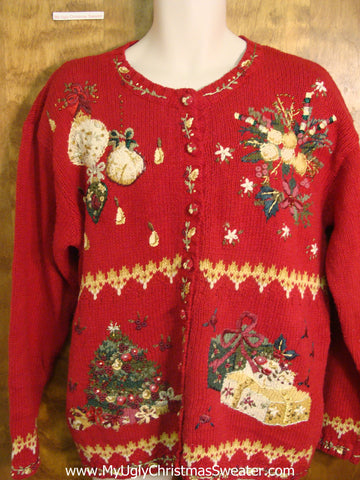 Festive Christmas Decorations Bad Christmas Sweater