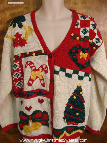 Festive Holiday Favorites Bad Christmas Sweater