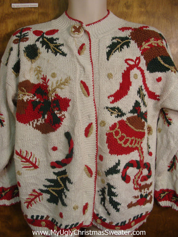 80s Holiday Bad Christmas Sweater